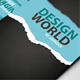Design World Business Card - GraphicRiver Item for Sale