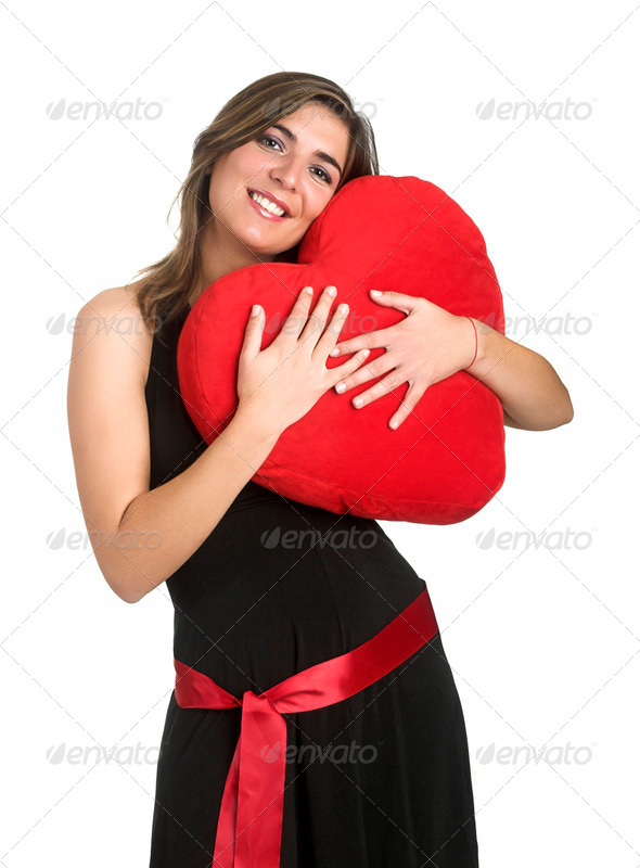 Heart Woman - Stock Photo - Images