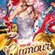 Glamour Music Festival PSD Template - GraphicRiver Item for Sale