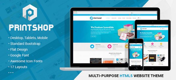 printshop responsive html printing template by netbaseteam themeforest. Black Bedroom Furniture Sets. Home Design Ideas