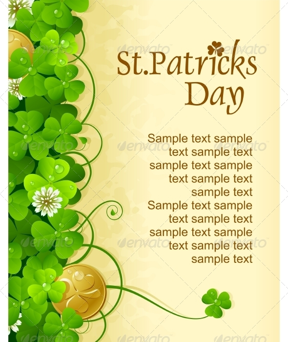 Saintt Patrick Day frame - Seasons/Holidays Conceptual