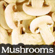 Sliced Button Mushrooms - GraphicRiver Item for Sale