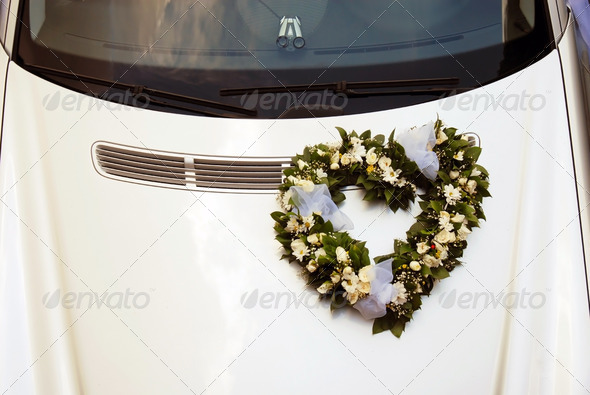 Wedding car - Stock Photo - Images