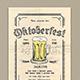 Oktoberfest Flyer-Graphicriver中文最全的素材分享平台