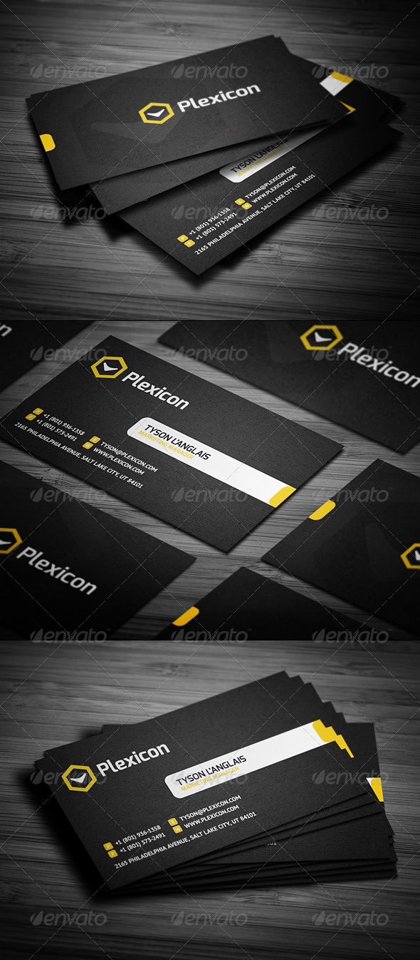 GraphicRiver Stylish Business Card 1778907