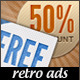 Web Banner Ads - Retro Marketing - GraphicRiver Item for Sale