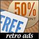 Web Banner Ads - Retro Marketing - GraphicRiver Item for Sale