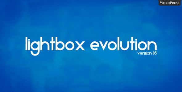CodeCanyon Lightbox Evolution for WordPress 119478