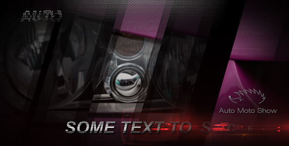 After Effects Project - VideoHive Auto Moto Show 160406