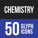 Chemistry Glyph Icons-Graphicriver中文最全的素材分享平台
