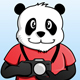 Photobrapher Panda - GraphicRiver Item for Sale