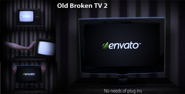 After Effects Project - VideoHive Old Broken TV 2 1787280
