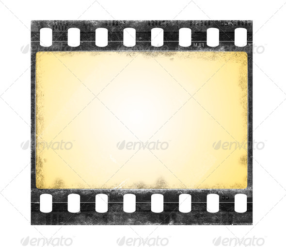 grunge film frame - Stock Photo - Images