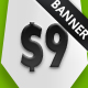 Comic Business Banner Box - GraphicRiver Item for Sale