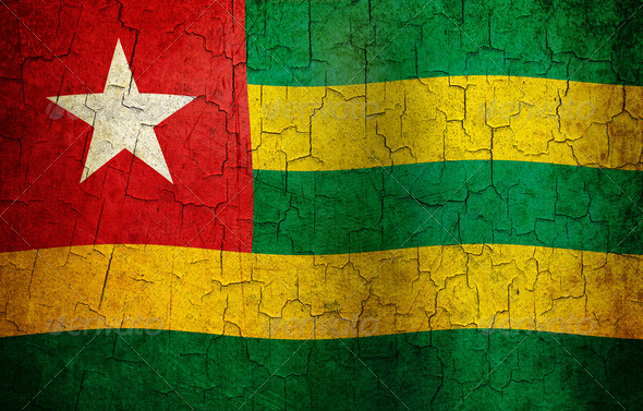 GRunge Togo flag - Stock Photo - Images