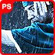 Rain Action雨中夜晚特效PS动-Graphicriver中文最全的素材分享平台