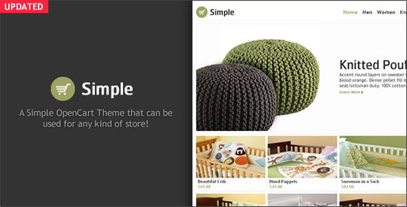 Simple - OpenCart Theme - OpenCart eCommerce