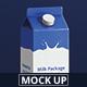 Juice / Milk Mockup - 1L Ca-Graphicriver中文最全的素材分享平台
