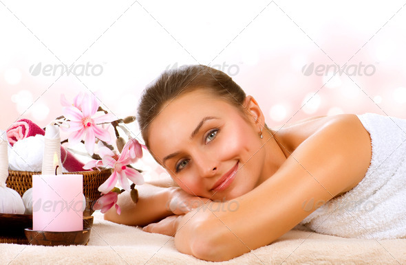 Spa Woman.Day Spa - Stock Photo - Images