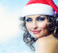 Christmas Girl.Winter woman portrait - PhotoDune Item for Sale