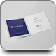 Bi-Fold Square Brochure Mock-up-Graphicriver中文最全的素材分享平台