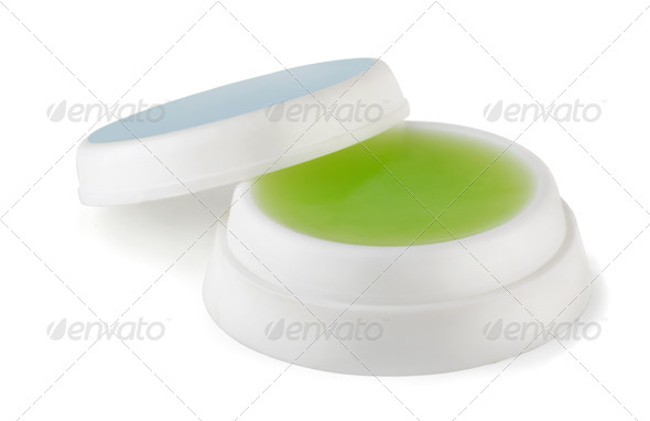 Fingertip moistener - Stock Photo - Images