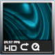 Deep Cyan Abstract Background HD Loop - VideoHive Item for Sale