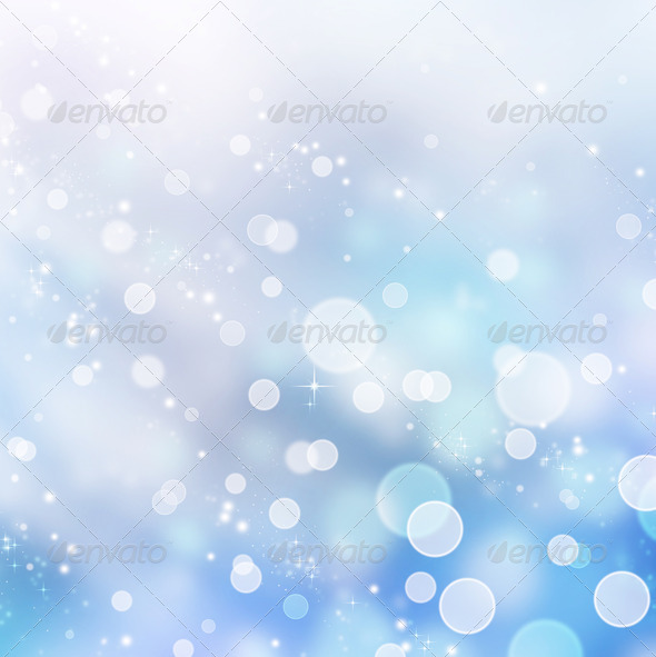 Winter Abstract Background.Christmas Holidays - Stock Photo - Images