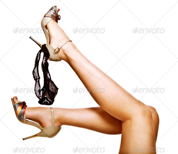 Woman legs - Stock Photo - Images