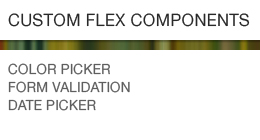 Custom Flex Components