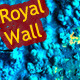 Grunge Royal Blue Wall - GraphicRiver Item for Sale