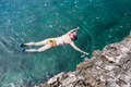 Woman with snorkelling and swimming in the sea - PhotoDune Item for Sale