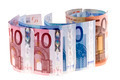 Banknotes of euros - PhotoDune Item for Sale