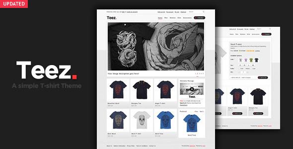 ThemeForest Teez OpenCart Theme 842161