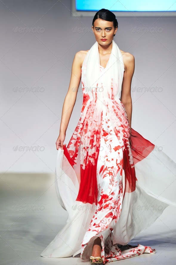 fashion show woman - Stock Photo - Images