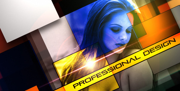 After Effects Project - VideoHive Massive Squares 1791358