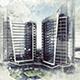 快速建筑绘画效果PS动作下载A-Graphicriver中文最全的素材分享平台