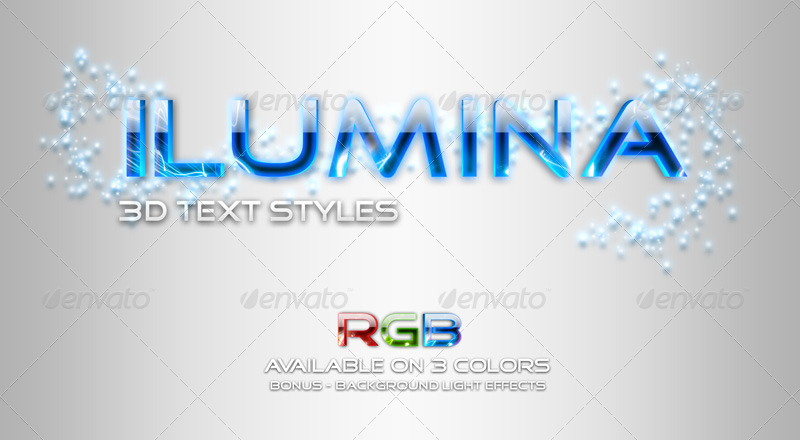 Premium 3D Text Effects Bundle