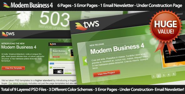 ThemeForest Modern Business 4 70751