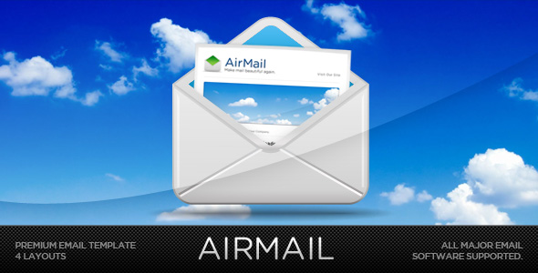 Airmail! - Customizable Email Template