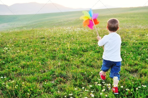Stock Photo - PhotoDune happy child have fun outdoor 1815561