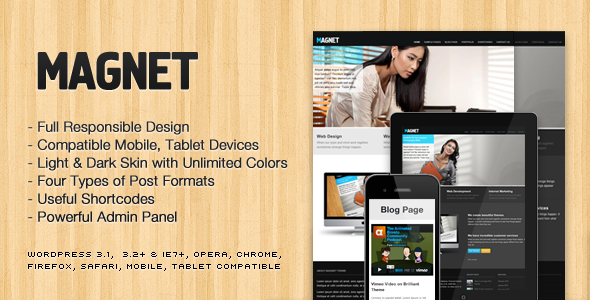 Magnet WordPress Theme