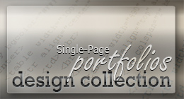 DESIGN COLLECTION | Single-Page-Portfolios