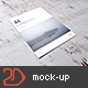 A4 / A5 Flyer Mockup-Graphicriver中文最全的素材分享平台