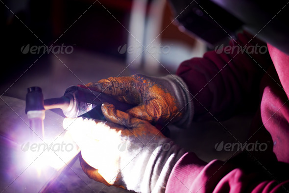 Welding - Stock Photo - Images