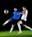 football players in action for the ball - PhotoDune Item for Sale