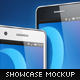 Stylish Android Phone App Showcase Mockup