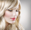 Blond Hair.Beautiful Woman Portrait.Hairstyle - PhotoDune Item for Sale