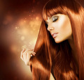 Beautiful Woman with Healthy Long Hair - PhotoDune Item for Sale