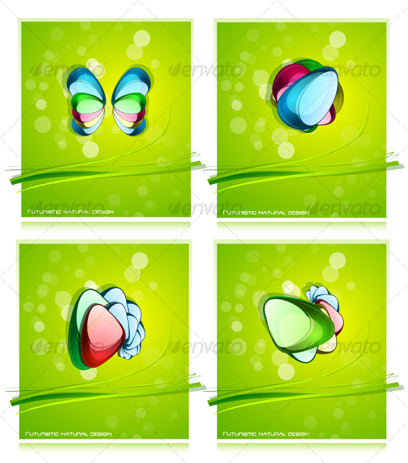 Organic background pack - Backgrounds Decorative